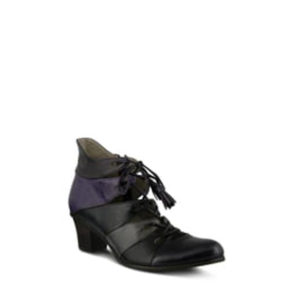 スプリングステップ レディース ブーツ&レインブーツ シューズ Estrela Ghillie Bootie Purple Multi Leather