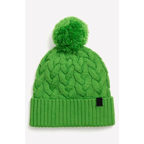 ラグアンドボーン メンズ 帽子 アクセサリー Aran Merino Wool Blend Beanie Lime