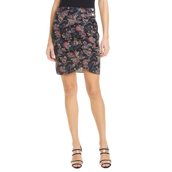バッシュ レディース スカート ボトムス Roster Paisley Print Tulip Skirt Black