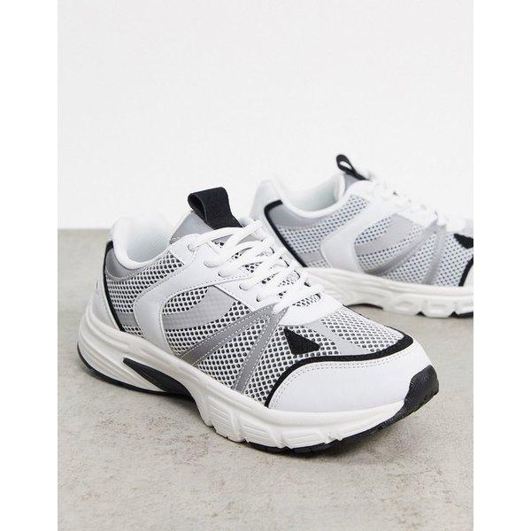 エイソス 豪華な レディース シューズ スニーカー White black 全商品無料サイズ交換 ASOS Dawson lace in white up DESIGN 贈与 sneakers
