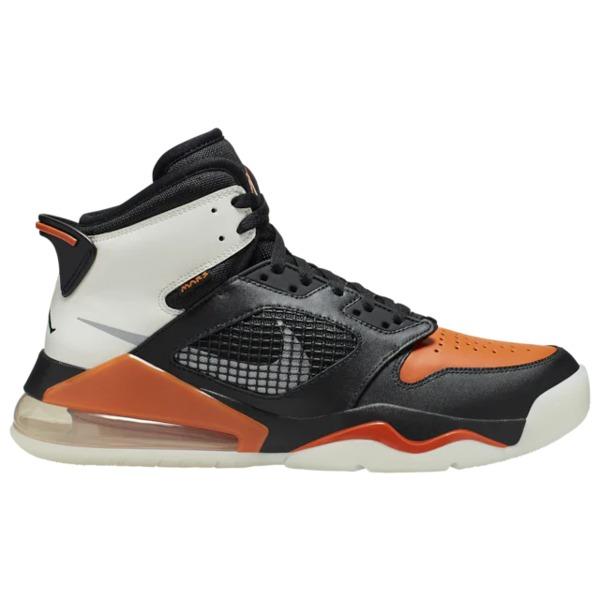 ジョーダン メンズ バスケットボール スポーツ Mars 270 Black/Reflective Silver/Starfish/Sail