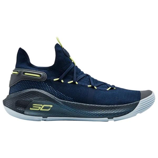 アンダーアーマー メンズ バスケットボール スポーツ Curry 6 Stephen Curry | Academy/Thunder/Fade/Pitch Grey/Coded Blue