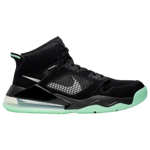 ジョーダン メンズ バスケットボール スポーツ Mars 270 Black/Green Glow/Green Glow