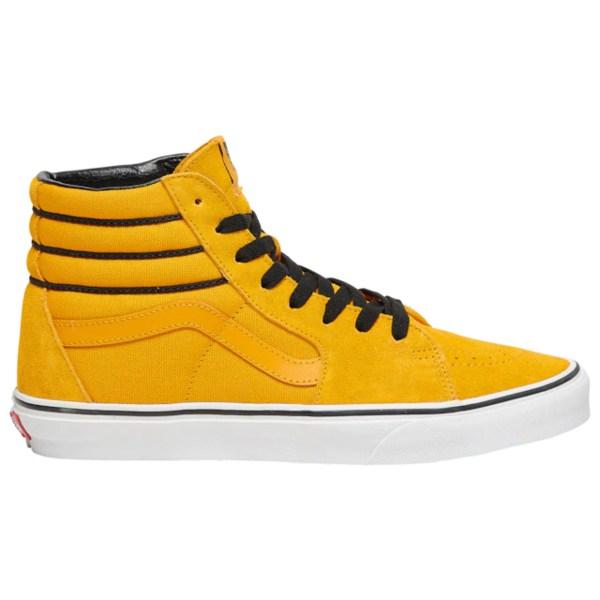 バンズ メンズ スニーカー シューズ Sk8 Hi Yellow/Black | SPORT STRIPE