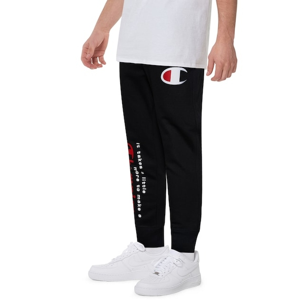 チャンピオン メンズ カジュアルパンツ ボトムス Multi Hit Jogger Black/White/Red | It Takes a Little More to Make a Champion