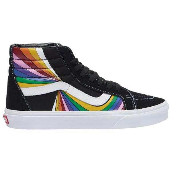 バンズ メンズ スニーカー シューズ Sk8 Hi Black/Rainbow