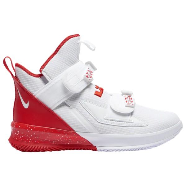 ナイキ メンズ バスケットボール スポーツ LeBron Soldier XIII SFG Lebron James | White/University Red