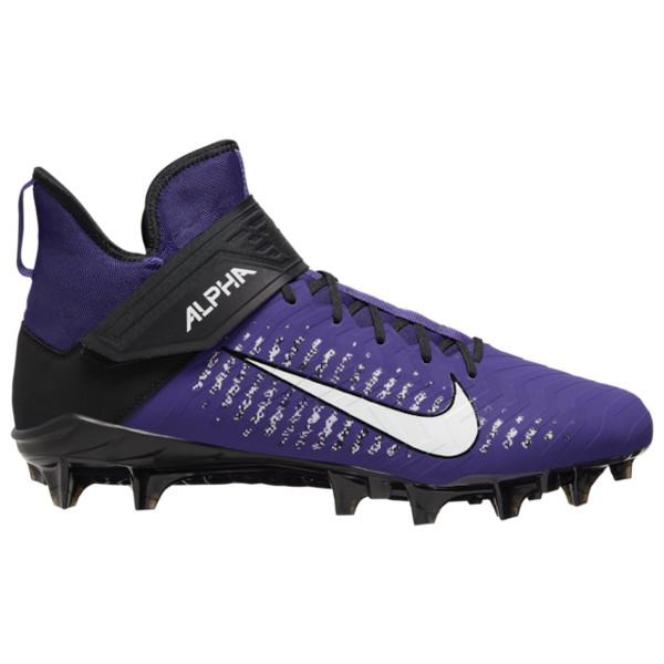 ナイキ メンズ サッカー スポーツ Alpha Menace Pro 2 MID Court Purple/White/Black/Black