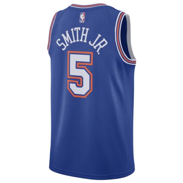 ナイキ メンズ フィットネス スポーツ NBA Swingman Jersey NBA   New York Knicks   Dennis Smith Jr   Blue   Alternate