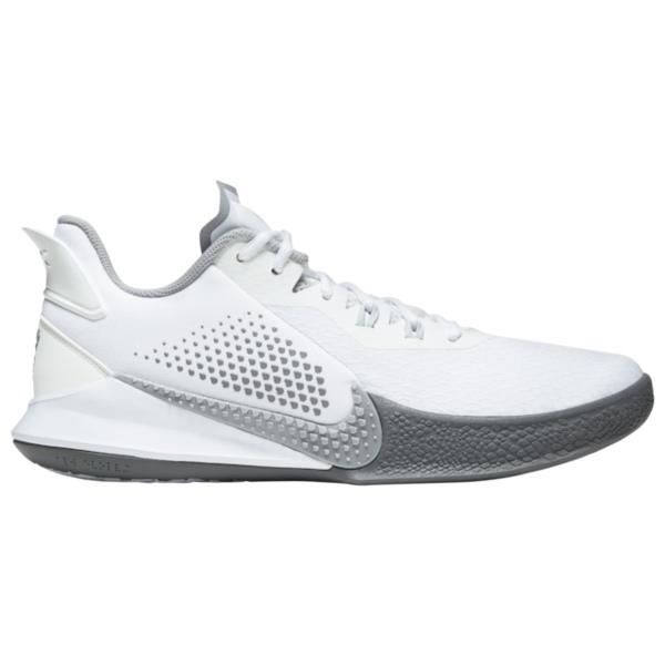 ナイキ メンズ バスケットボール スポーツ Mamba Fury Kobe Bryant | White/Wolf Grey/Pure Platinum