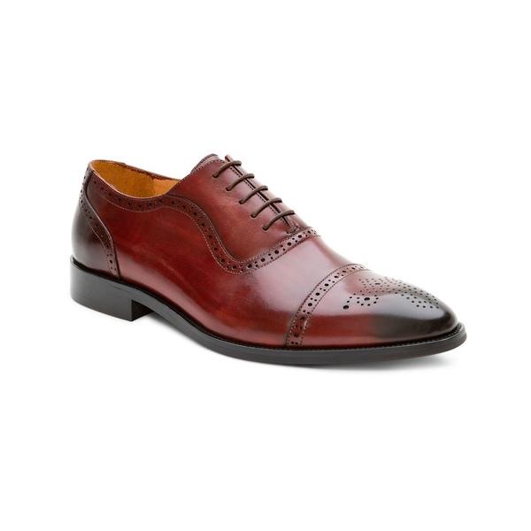 Men's Shoes Hybrid アイクベーハー シューズ Oxford ドレスシューズ メンズ Brown Handmade