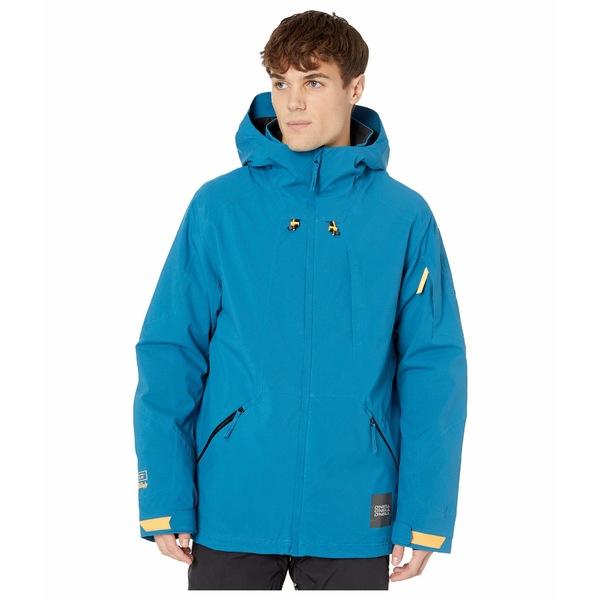 オニール メンズ コート アウター Total Disorder Jacket Seaport Blue
