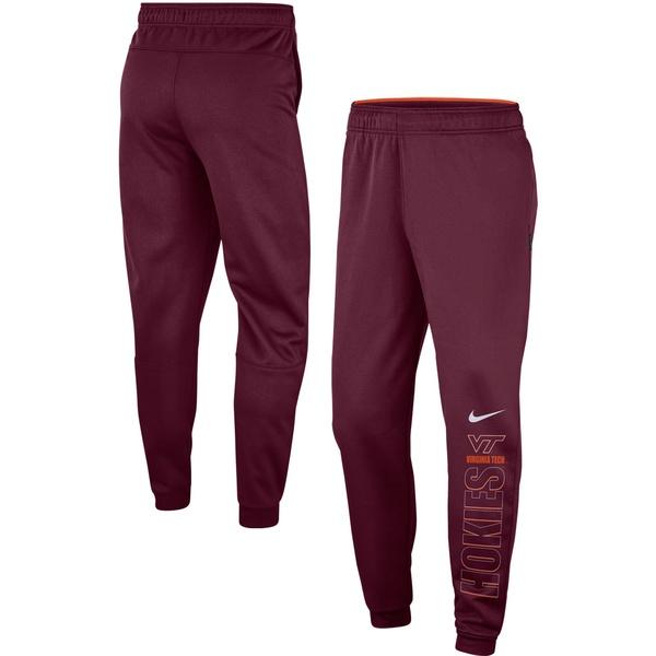 ナイキ メンズ カジュアルパンツ ボトムス Virginia Tech Hokies Nike Team Performance Pants Maroon