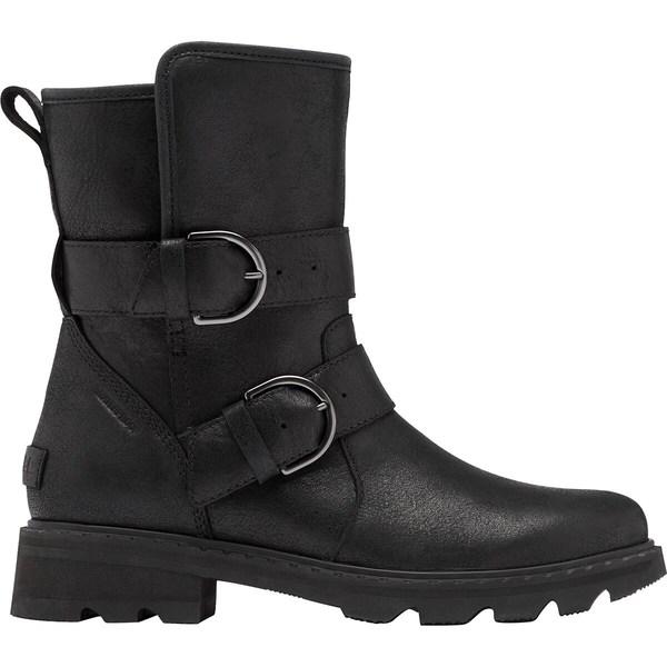 有名な高級ブランド ソレル レディース ブーツ&レインブーツ シューズ Lennox Moto Cozy Boot - Women's Black, ディスカウント みやこ cb2490b8