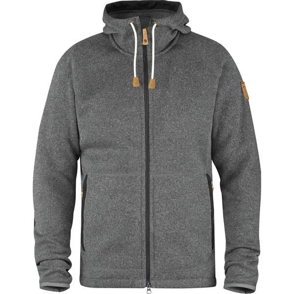 フェールラーベン メンズ ニット&セーター アウター Ovik Fleece Hooded Jacket - Men's Dark Grey:asty
