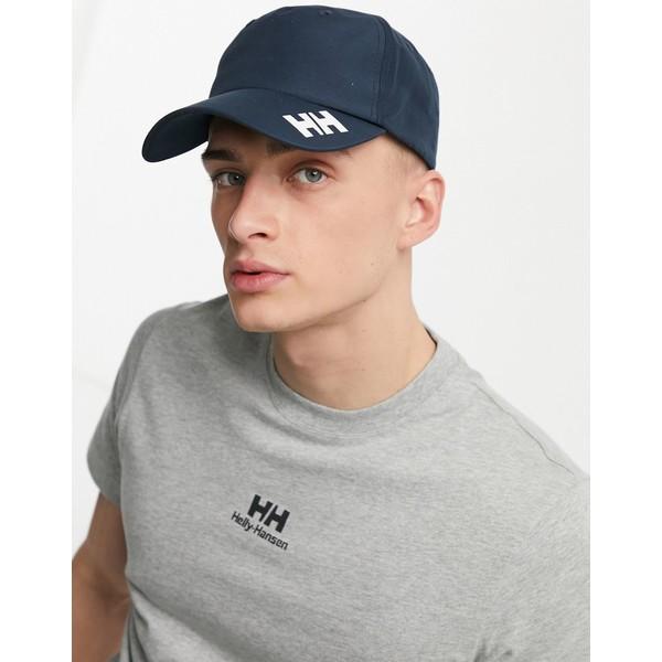 ヘリーハンセン メンズ アクセサリー 帽子 Navy 日本製 全商品無料サイズ交換 in Hansen Crew Helly 情熱セール cap navy