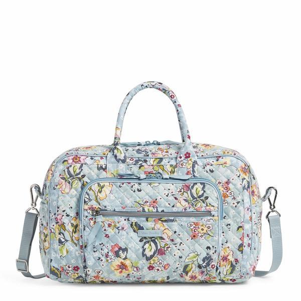 ベラブラッドリー レディース ボストンバッグ バッグ Iconic Compact Weekender Travel Bag Floating Garden