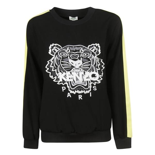ケンゾー レディース パーカー・スウェットシャツ アウター Kenzo Tiger Sweatshirt black