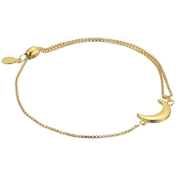 アレックスアンドアニ 優先配送 レディース アクセサリー 保障 ブレスレット バングル アンクレット 14KT Pull Chain Moon Gold Plated Bracelet 全商品無料サイズ交換