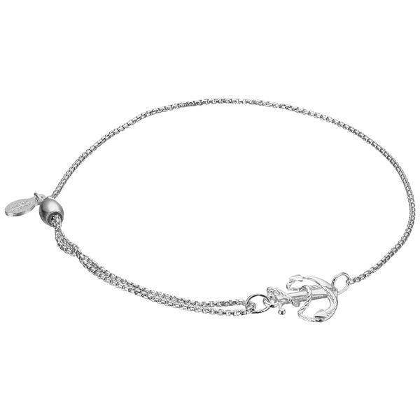 アレックスアンドアニ レディース アクセサリー 永遠の定番 ブレスレット バングル アンクレット 全商品無料サイズ交換 Silver セール価格 Pull Bracelet Anchor Chain
