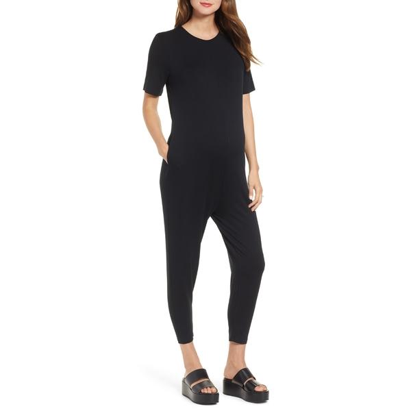 ハッチ レディース ワンピース トップス HATCH Walkabout Jumpsuit Black