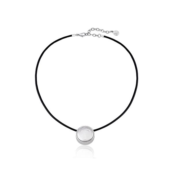 マジョリカ レディース ネックレス・チョーカー・ペンダントトップ アクセサリー Majorica Simulated Flat Coin Pearl Necklace Silver