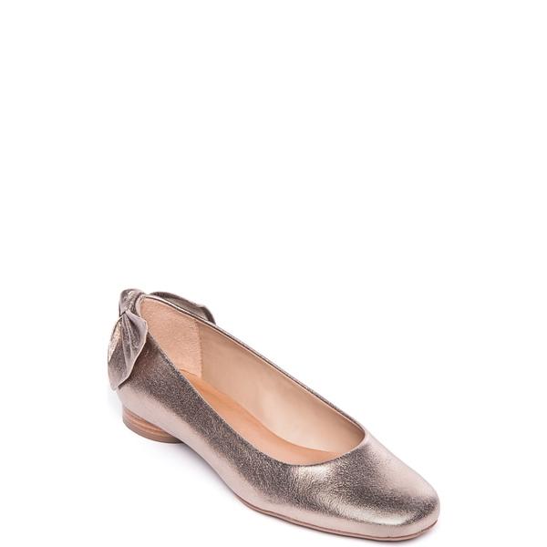 ベルナルド レディース サンダル シューズ Bernardo Eloise Bow Flat (Women) Platinum Leather