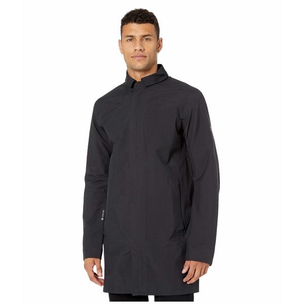アークテリクス メンズ コート アウター Keppel Trench Coat Black II