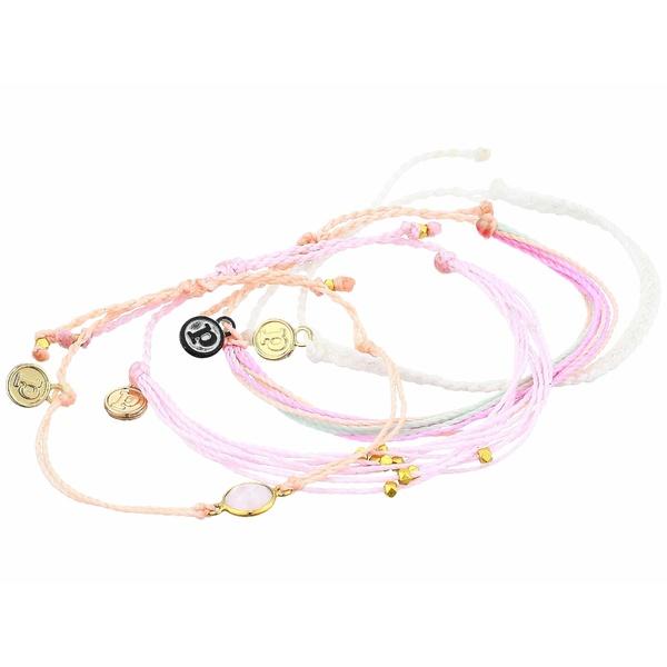 プラ ヴィダ レディース ブレスレット・バングル・アンクレット アクセサリー Feminine 4-Pack Bracelet Rose