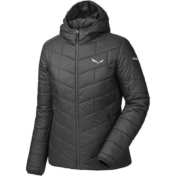 サレワ レディース ジャケット&ブルゾン アウター Salewa Women's Fanes TW CLT Hood Jacket Black Out
