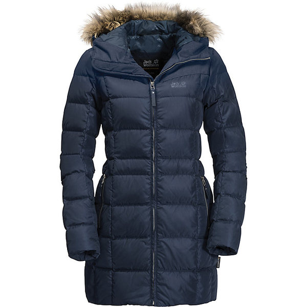 ジャックウルフスキン レディース ジャケット&ブルゾン アウター Jack Wolfskin Women's Baffin Island Coat Midnight Blue