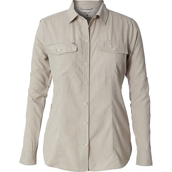 ロイヤルロビンズ レディース ハイキング スポーツ Royal Robbins Women's Bug Barrier Expedition Dry LS Shirt Soapstone