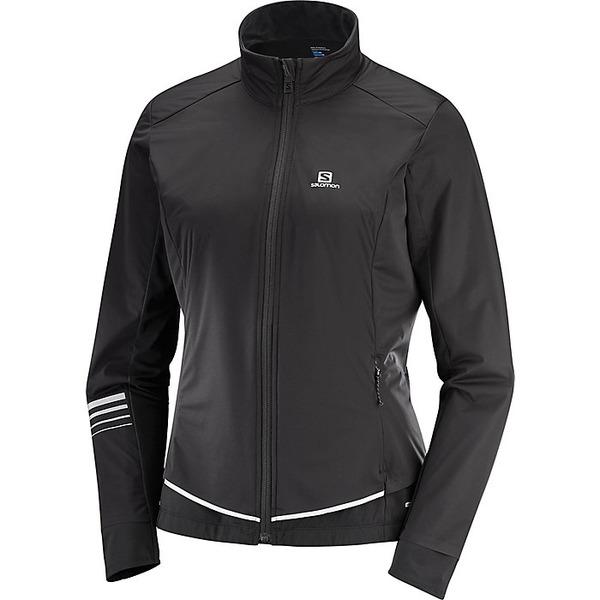 サロモン レディース ジャケット&ブルゾン アウター Salomon Women's Lightning Lightshell Jacket Black