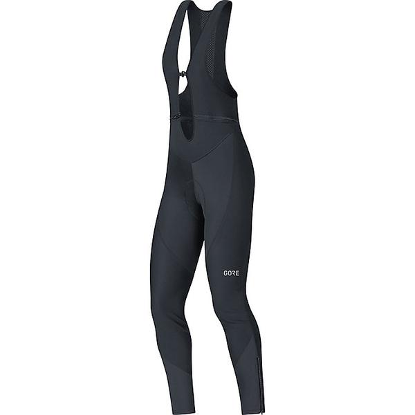 ゴアウェア レディース フィットネス スポーツ Gore Wear C3 Women's Gore Windstopper Bib Tight+ Black