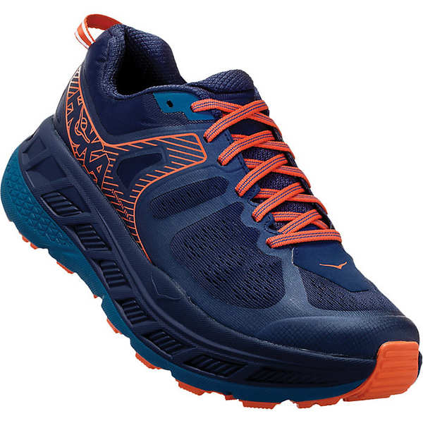 ホッカオネオネ メンズ ランニング スポーツ Hoka One One Men's Stinson Atr 5 Shoe Mood Indigo / Blue Sapphire