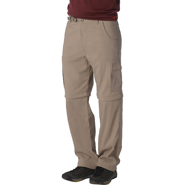 プラーナ メンズ ハイキング スポーツ Prana Men's Stretch Zion Convertible Pant Dark Khaki