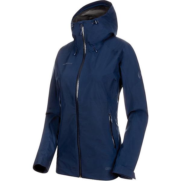マムート レディース ジャケット&ブルゾン アウター Mammut Women's Convey Tour Hardshell Hooded Jacket Peacoat