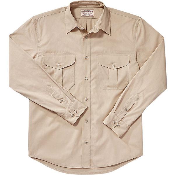 フィルソン メンズ シャツ トップス Filson Men's Feather Cloth Shirt Desert Tan