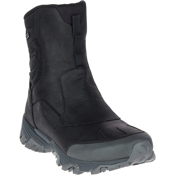 メレル メンズ ハイキング スポーツ Merrell Men's Coldpack Ice+ 8IN Zip Polar Waterproof Boot Black