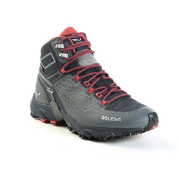 サレワ レディース ハイキング スポーツ Salewa Women's Alpenrose Ultra GTX Mid Boot Night Black / Mineral Red