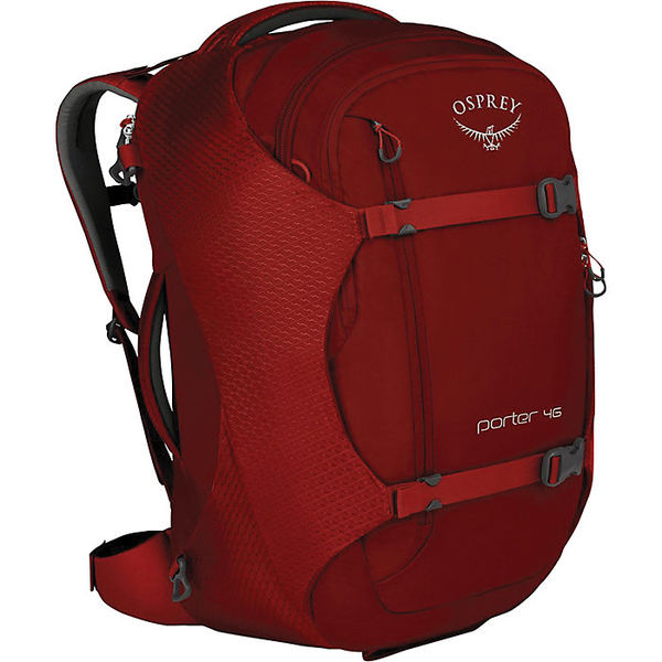 オスプレー メンズ ボストンバッグ バッグ Osprey Porter 46 Backpack Diablo Red