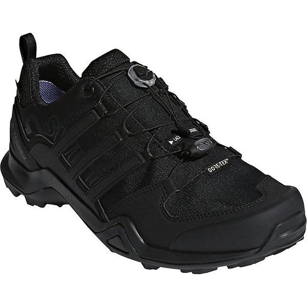 アディダス メンズ ハイキング スポーツ Adidas Men's Terrex Swift R2 GTX Shoe Black / Black / Black