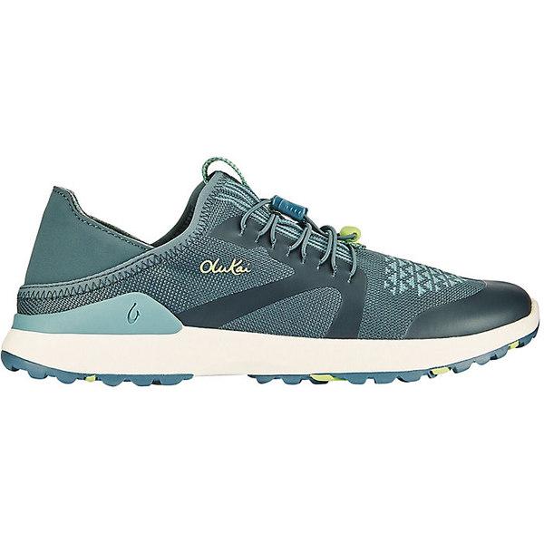 オルカイ レディース ランニング スポーツ Olukai Women's Miki Trainer Shoe Iron / Mineral Blue