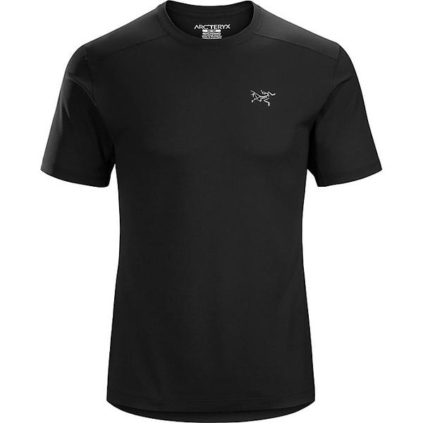 アークテリクス メンズ ハイキング スポーツ Arcteryx Men's Velox SS Crew Black