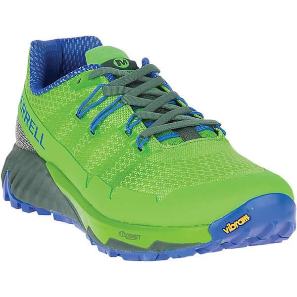 メレル メンズ ランニング スポーツ Merrell Men's Agility Peak Flex 3 Shoe Lime