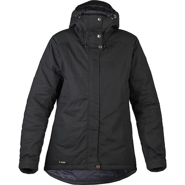 フェールラーベン レディース ジャケット&ブルゾン アウター Fjallraven Women's Skogso Padded Jacket Black