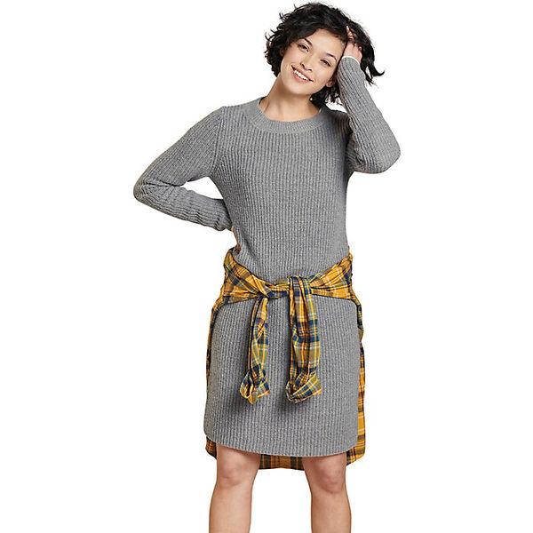 トードアンドコー レディース ワンピース トップス Toad & Co Women's Lakeview Sweater Dress Heather Grey