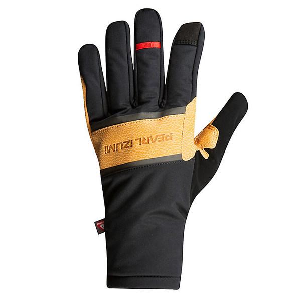 パールイズミ レディース 手袋 アクセサリー Pearl Izumi Amfib Lite Glove Black / Dark Tan