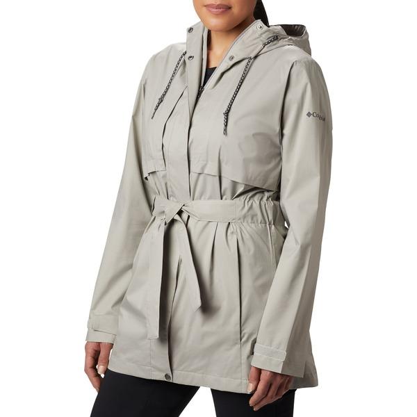 コロンビア レディース ジャケット&ブルゾン アウター Columbia Women's Pardon My Trench Rain Jacket BoldOrange