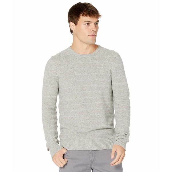 ビリーレイド メンズ 返品交換不可 アウター ニットセーター 予約販売 Light 全商品無料サイズ交換 Crew Stripe Grey Textured